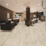 Horizen Flooring presents to you a picture of a luxury vinyl plank flooring, manufactured by Eagle Creek Floors. Color: Hickory Sand