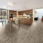 Horizen Flooring presents to you a picture of a luxury vinyl plank flooring, manufactured by Eagle Creek Floors. Color: Acacia Smoke