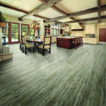 Horizen Flooring presents to you a picture of a luxury vinyl plank flooring, manufactured by Eagle Creek Floors. Color: Pine Winterwood