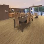 Horizen Flooring presents to you a picture of a luxury vinyl plank flooring, manufactured by Eagle Creek Floors. Color: Hickory Natural