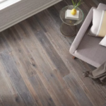 Horizen Flooring presents to you a picture of a 7-ply baltic birch core Oak hardwood flooring, manufactured by Regal Hardwoods. Color: Amherst.
