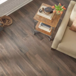 Horizen Flooring presents to you a picture of a 7-ply baltic birch core Oak hardwood flooring, manufactured by Regal Hardwoods. Color: Dublin