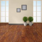 Horizen Flooring presents to you a picture of a oak wide plank hardwood flooring, manufactured by Eagle Creek Floors. Color: Ballad Oak.