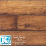 Horizen Flooring presents to you a picture of a 8mm Laminate flooring, manufactured by Knoas Flooring. Color: Sun Burnt French Bleed.
