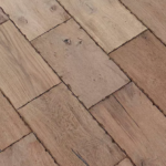 Horizen Flooring presents to you a picture of a subway tile pattern Oak hardwood flooring, manufactured by Regal Hardwoods. Color: Buffalo Central.