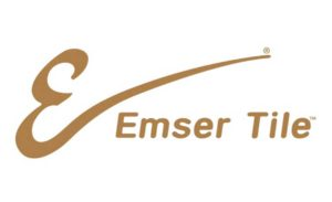 This is a picture of Emser Tile flooring company logo