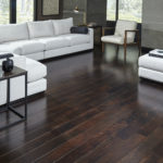 Horizen Flooring presents to you a picture of an acacia wide plank hardwood flooring, manufactured by Eagle Creek Floors. Color: Cocoa Acacia.