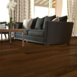 Horizen Flooring presents to you a picture of a jatoba wide plank hardwood flooring, manufactured by Eagle Creek Floors. Color: Jatoba Imperial.