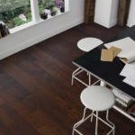 Horizen Flooring presents to you a picture of a 7-ply baltic birch core Hickory hardwood flooring, manufactured by Regal Hardwoods. Color: Prado.