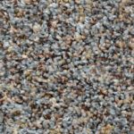 Horizen Flooring presents to you a picture of a 100% PureColor TM Solution Dyed BCF polyester carpet, manufactured by DreamWeaver. Color: Greystone 880.