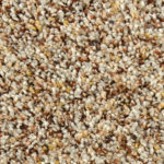 Horizen Flooring presents to you a picture of a 100% PureColor TM Solution Dyed BCF polyester carpet, manufactured by DreamWeaver. Color: Priarie 726.