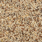 Horizen Flooring presents to you a picture of a 100% PureColor TM Solution Dyed BCF polyester carpet, manufactured by DreamWeaver. Color: Shaker Tan 814.