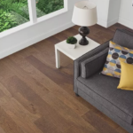 Horizen Flooring presents to you a picture of a 7-ply baltic birch core Oak hardwood flooring, manufactured by Regal Hardwoods. Color: Driftwood Road.