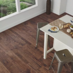 Horizen Flooring presents to you a picture of a 7-ply baltic birch core Hickory hardwood flooring, manufactured by Regal Hardwoods. Color: Kensington.
