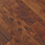Horizen Flooring presents to you a picture of a 7-ply baltic birch core Hickory hardwood flooring, manufactured by Regal Hardwoods. Color: Winchester.