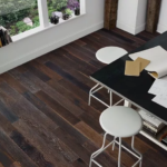 Horizen Flooring presents to you a picture of a 7-ply baltic birch core Hickory hardwood flooring, manufactured by Regal Hardwoods. Color: Waverly Avenue.