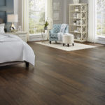 Horizen Flooring presents to you a picture of an oak wide plank hardwood flooring, manufactured by Eagle Creek Floors. Color: Wood Barrel Oak