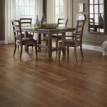 Horizen Flooring presents to you a picture of a maple wide plank hardwood flooring, manufactured by Eagle Creek Floors. Color: Maple Crestview