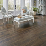 Horizen Flooring presents to you a picture of a maple wide plank hardwood flooring, manufactured by Eagle Creek Floors. Color: Maple Northview.