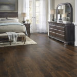 Horizen Flooring presents to you a picture of a maple wide plank hardwood flooring, manufactured by Eagle Creek Floors. Color: Maple Magnolia.
