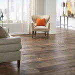 Horizen Flooring presents to you a picture of a maple wide plank hardwood flooring, manufactured by Eagle Creek Floors. Color: Aurora Maple