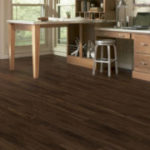 Horizen Flooring presents to you a picture of a luxury vinyl plank flooring, manufactured by Eagle Creek Floors in the Syncorex collection. Color: Tavern Hickory
