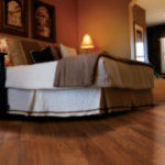 Horizen Flooring presents to you a picture of a luxury vinyl plank flooring, manufactured by Eagle Creek Floors in the Syncorex collection. Color: Cordova Cherry