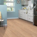 Horizen Flooring presents to you a picture of a luxury vinyl plank flooring, manufactured by Eagle Creek Floors in the Syncorex collection. Color: Bamboo Dusk