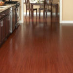 Horizen Flooring presents to you a picture of a luxury vinyl plank flooring, manufactured by Eagle Creek Floors in the Syncorex collection. Color: Bamboo Cherry