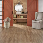 Horizen Flooring presents to you a picture of a luxury vinyl plank flooring, manufactured by Eagle Creek Floors in the Syncorex collection. Color: Foxtail