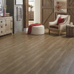 Horizen Flooring presents to you a picture of a luxury vinyl plank flooring, manufactured by Eagle Creek Floors in the Syncorex collection. Color: Morrison