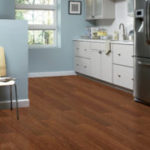 Horizen Flooring presents to you a picture of a mahogany wide plank hardwood flooring, manufactured by Eagle Creek Floors. Color: Cimarron Mahogany