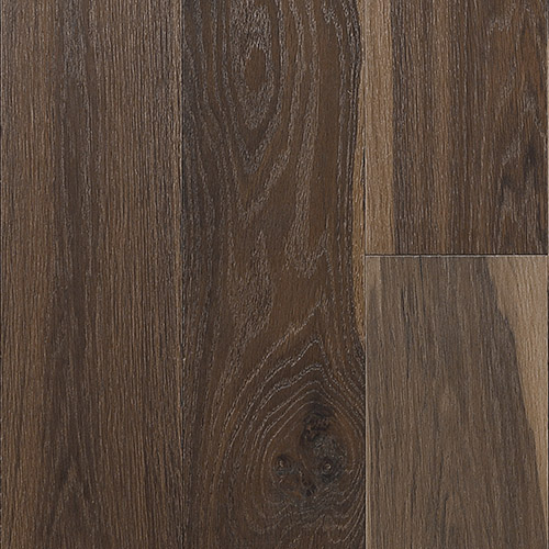 """Horizen Flooring presents to you a picture of a quality 6"""" wide plank French Oak hardwood flooring, manufactured by Aayers Flooring. Color: Ironwood.  Incorporated in Kent Washington in 2012, AAYERS Flooring has been producing quality lumbers and world class floorings since 2000 through its Holding company. AAYERS Flooring inherited expertise in producing stylish and quality solid and engineered hardwood floors, and all of its our products have been very well accepted in the market. Taking pride in using quality materials, state-of-the-art equipment and exacting safety and quality control measures to ensure that every customer receives the highest quality product, AAYERS Flooring is committed to redefining the look of floors and beautifying interior spaces, offering product value, sustainable flooring solutions and incredible style options."""