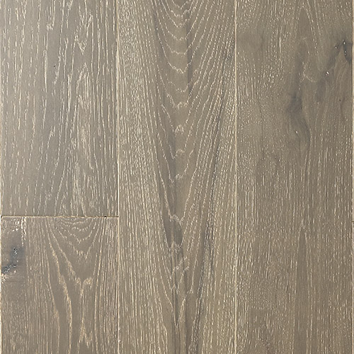 """Horizen Flooring presents to you a picture of a quality 6"""" wide plank French Oak hardwood flooring, manufactured by Aayers Flooring. Color: Sycamore.  Incorporated in Kent Washington in 2012, AAYERS Flooring has been producing quality lumbers and world class floorings since 2000 through its Holding company. AAYERS Flooring inherited expertise in producing stylish and quality solid and engineered hardwood floors, and all of its our products have been very well accepted in the market. Taking pride in using quality materials, state-of-the-art equipment and exacting safety and quality control measures to ensure that every customer receives the highest quality product, AAYERS Flooring is committed to redefining the look of floors and beautifying interior spaces, offering product value, sustainable flooring solutions and incredible style options."""
