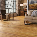 Horizen Flooring presents to you a picture of a wide plank Cypress hardwood flooring, manufactured by Eagle Creek Floors. Color: Cypress Nantes. The goal of the Eagle Creek brand is to provide quality flooring and home décor products at competitive prices. Eagle Creek captures old-world craftsmanship in its comprehensive selection of high-quality flooring products. Made to satisfy a wide range of budget and décor options, an Eagle Creek floor delivers aesthetic beauty and long-lasting value, providing fashion and function to homes everywhere.