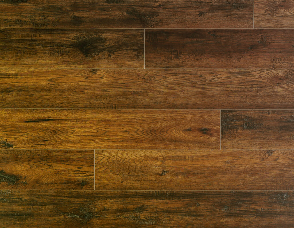 """Horizen Flooring presents to you a picture of a quality 7"""" wide plank luxury vinyl SPC flooring. LW Flooring is widely reknowned for it's German adhesive and state of the art technology. Color Presented: Garnet Bay - Riverstone Collection."""