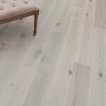 """Horizen Flooring presents to you a picture of a quality 7.5"""" wide plank European White Oak Hardwood flooring. Product is wirebrushed finished. LW Flooring is widely reknowned for it's German adhesive and state of the art technology. Style Presented: Palermo Oak - LW Flooring Renaissance Collection."""